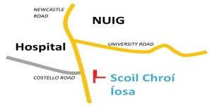 Scoil Chroí Íosa Map I
