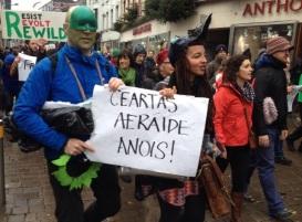 Ceartas Aeráide Anois! (Climate Justice Now!)